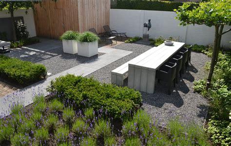 Moderne tuin - Buiten
