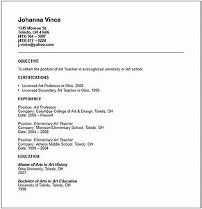 education resume examples With how to write a resume for a teaching position