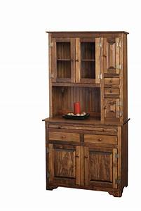 Microwave Hutch - Peaceful Valley Amish Furniture