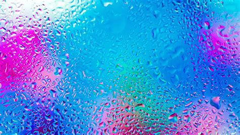 Waterdrops Bright Hd Desktop Background