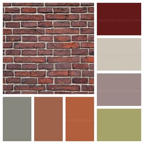 what paint color goes with rust house paint colors that go with brick the dominant