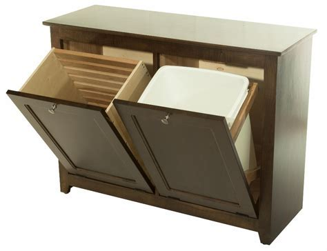 Waste Bin/Hamper Tilt Out : 390 W02850 103 O : Wood