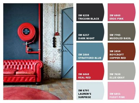 industrial color palette inspiration chip it by sherwin