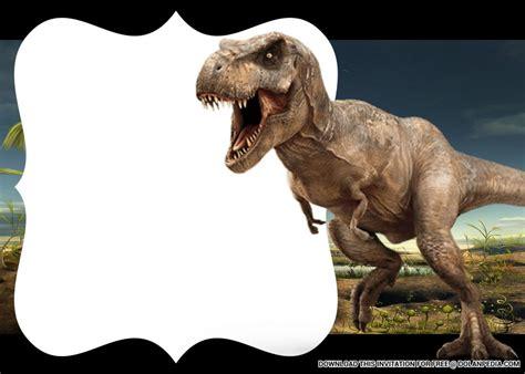printable dinosaur birthday party invitation