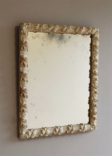 white distressed mirror mirror with distressed surface glass 1024