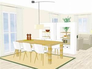 Wohnzimmer Mit Essbereich : raumteiler sorgen f r ver nderung im wohnzimmer ~ Watch28wear.com Haus und Dekorationen