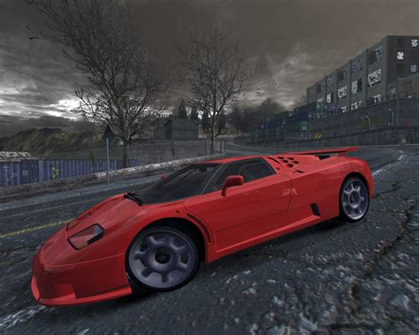 Need For Speed Most Wanted Bugatti Eb110ss