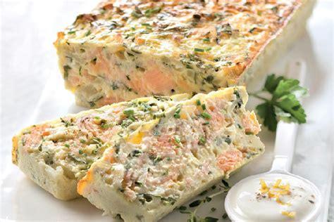 recette cuisine au four terrine saumon truite recette facile gourmand