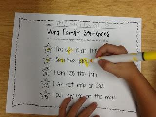 Used Cupboard In A Sentence by Working On Word Families With 2 Freebies Learning To