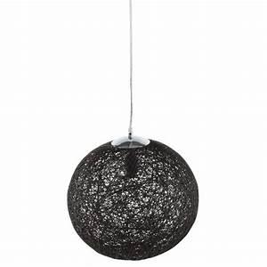 Suspension Luminaire Noir : lampe suspension boule suspension luminaire chambre marchesurmesyeux ~ Teatrodelosmanantiales.com Idées de Décoration