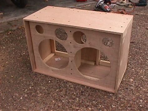 2x10 Bass Cabinet Plans by How To Build A Speaker Cabinet Manicinthecity
