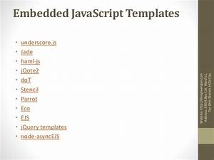 javascript template engine With dot js template