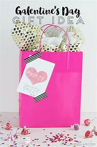 "Valentine's Day ""Galentine"" Gift Idea and Printable Tag ..."