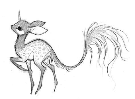 drawn unicorn mythical creature pencil   color
