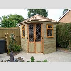 Corner Summer House Pitched Roof  Go To