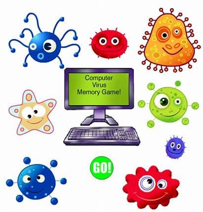 Virus Computer Memory Clker Clip Clipart Svg