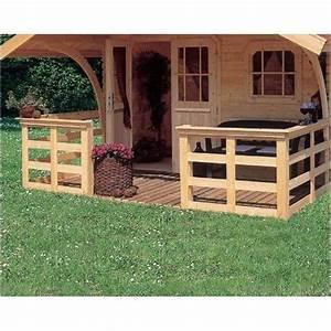 Abri De Jardin Avec Terrasse : terrasse en bois massif pour abri de jardin 180cm ~ Dailycaller-alerts.com Idées de Décoration