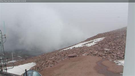 pikes peak summit weather cams