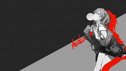 Asuka Evangelion Persona Styled Edited