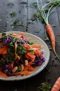 Dressing Für Karottensalat : veganer karotten rotkohl salat mit karottengr n dressing ~ Lizthompson.info Haus und Dekorationen