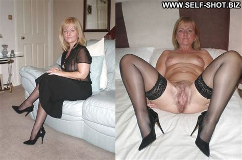 Granny Dressed Undressed Mature