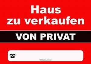 Verkaufen Haus Privat : plakat 39 haus zu verkaufen privat 39 vorlage muster zum ausdrucken ~ Frokenaadalensverden.com Haus und Dekorationen