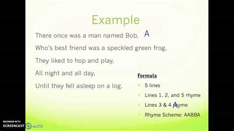 limerick poems