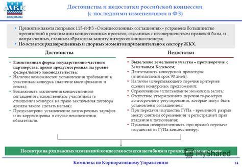 Глава 3. порядок заключения концессионного соглашения ст.ст. 21 38 . гарант