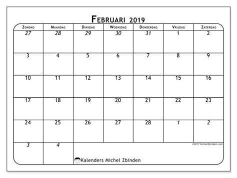 kalender februari zz michel zbinden nl