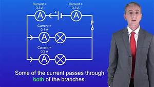 Gcse Science Physics  9-1  Current In Parallel Circuits