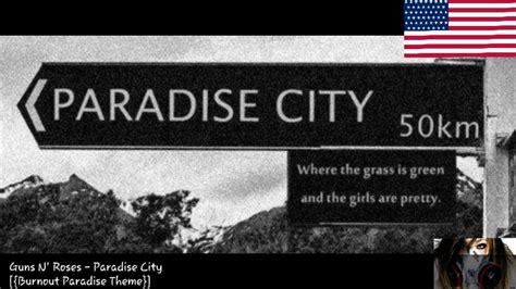 Paradise City [{burnout Paradise Theme