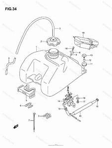 Suzuki Atv 2003 Oem Parts Diagram For Fuel Tank