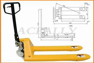 Economic Manual Hydraulic Hand Pallet Lift Jack