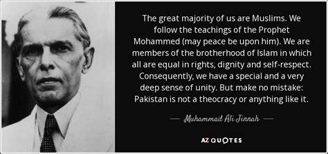muhammad ali jinnah quote  great majority