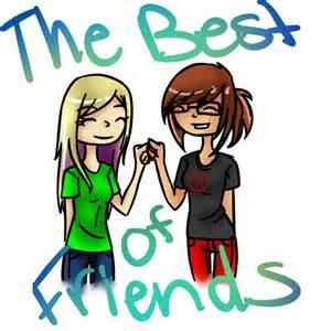 Boy Girl Best Friends Chibi