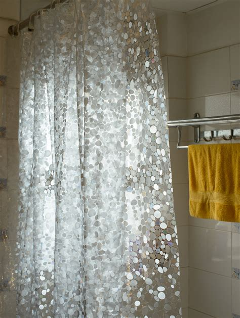Clear Shower Curtain With Design - awesome clear shower curtain with design homesfeed