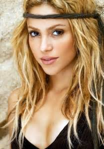 Shakira Natural Beauty