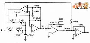 adjustable delay and amplitude equalizer circuit diagram With 5 band graphic equalizer using a single ic chip ba3812l