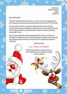 personalised letter from santa With santa letters from north pole uk