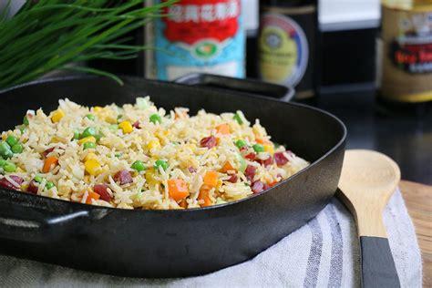 cuisine recette la recette authentique du riz cantonais cuisine chinoise