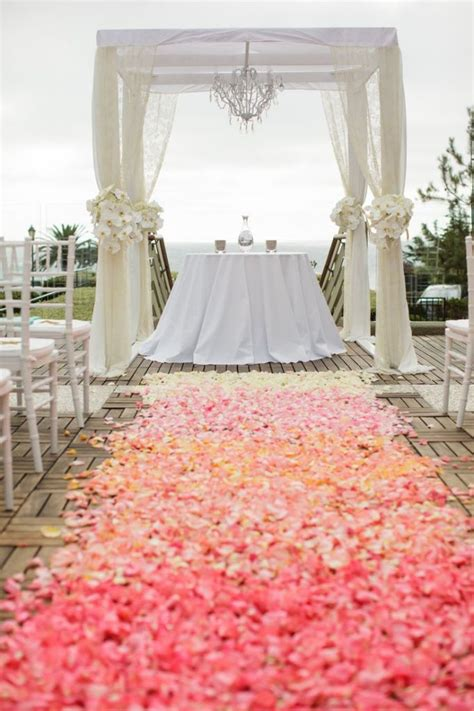 Purple Carpet Runner by 50 Beach Wedding Aisle Decoration Ideas Deer Pearl Flowers