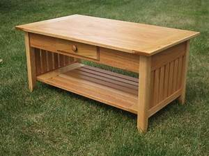 mission style coffee table plans free coffee table With bench style coffee table