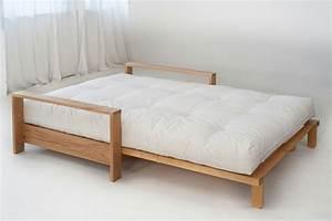 lit futon pour une chambre a coucher de style japonais With canapé lit japonais