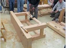 Build a French Workbench in Douglas Fir YouTube
