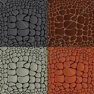Crocodile Texture Vector