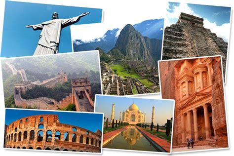 7 merveilles du monde moderne unesco les 7 nouvelles merveilles du monde g 233 n 233 ral kulture
