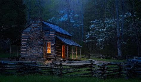 carter shields cabin  great smoky mountains national