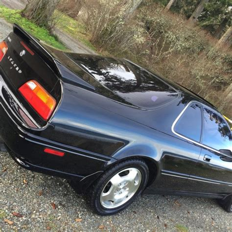 Acura Legend 6 Speed by 1994 Acura Legend 6 Speed Black Black Leather Ls Coupe 2