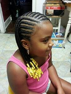 Little Black Kids Braids Hairstyles Picture Regarding