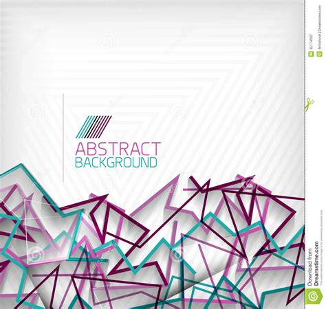 abstract geometric background colorful lines royalty free
